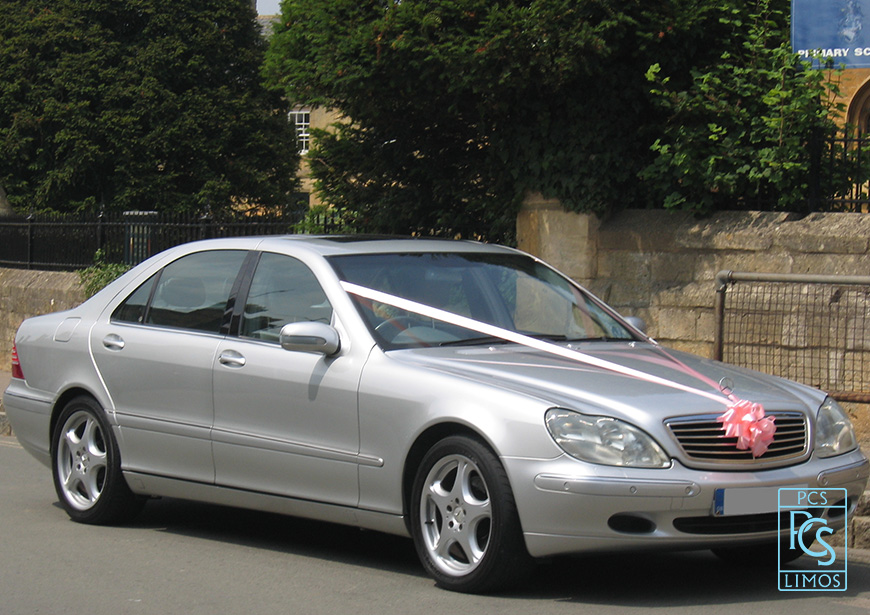 Mercedes-Benz S-Class Wedding Car
